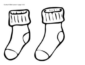Eureka Math Kindergarten Module 1 Lesson 1 Socks