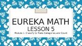 Eureka Math Kindergarten Module 1 Lesson 5 Animated Powerpoint