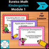 Eureka Math Kindergarten Module 1 Complete Set