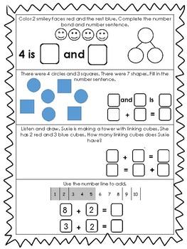 Eureka Math- Kindergarten Module 4 Assessment