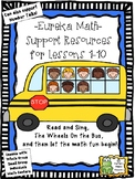 Eureka Math Lessons 1-10, Supporting Resources
