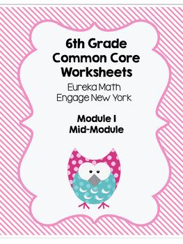 Eureka Math Mid Module 1 Study Guide or Modified Test