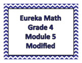 Eureka Math Modified Grade 4 Module 5