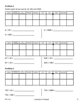 Eureka Math, Module 1 Bundle