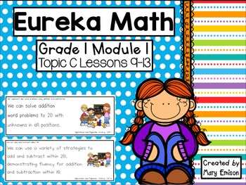 Eureka Math Module 1 Flipchart BUNDLE!!!