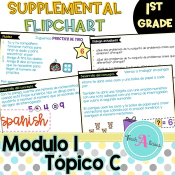 Eureka Math Module 1 Flipchart for Promethean in Spanish | Topic C