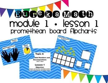 Eureka Math Module 1, Lesson 1 ~ FREEBIE ~ 1st Grade