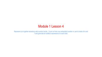 Eureka Math Module 1 Lesson 4