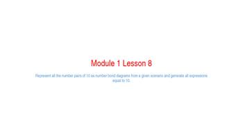 Eureka Math Module 1 Lesson 8