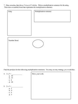 Eureka Math: Module 1, Lessons 1, 2, 3 Test
