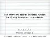 Eureka Math Module 1 Objectives