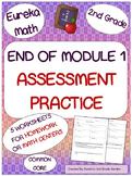 2nd Grade Eureka Math End of Module 1 Assessment Practice