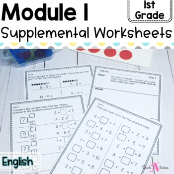Eureka Math Module 1 Resource sheets