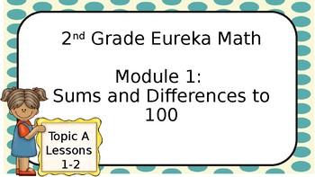 Eureka Math- Module 1, Topic A presentation- EDITABLE!!!!!