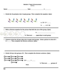 Eureka Math Module 1 Topic B Test