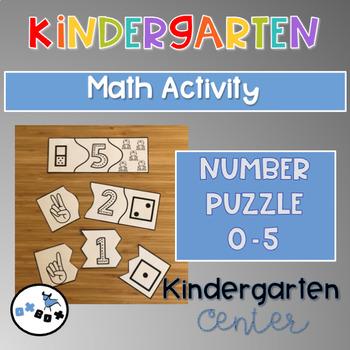 Eureka Math Module 1 Topic C Center Activity: Number Puzzle 0-5