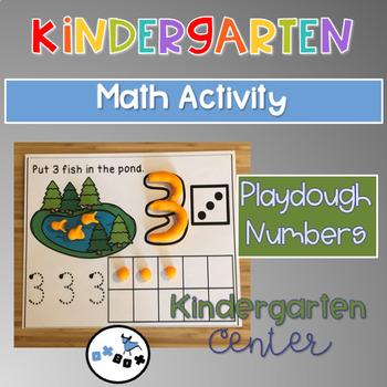 Eureka Math Module 1 Topic C Center Activity: Playdough Numbers 1-5
