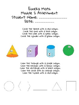 Eureka Math Module 2 Alternative Assessment