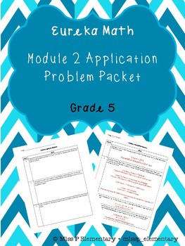 Grade 5 Eureka Math Module 2 Application Problems
