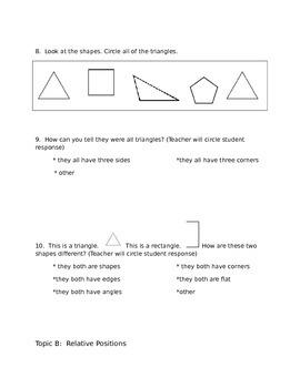 Eureka Math Module 2 Assessment