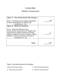 Eureka Math Module 2 Assessment