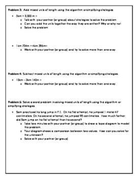 Eureka Math Module 2 Concept Development Problems