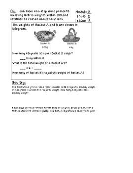 Eureka Math Module 2 Grade 3
