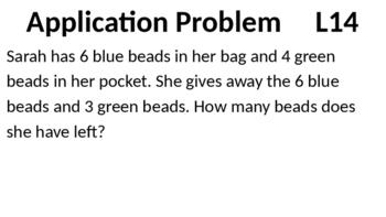 Eureka Math - Module 2 Lesson 14 (1st grade)