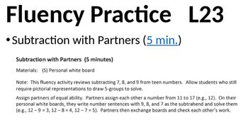 Eureka Math - Module 2 Lesson 23 (1st grade)