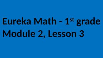 Eureka Math - Module 2 Lesson 3 (1st grade)