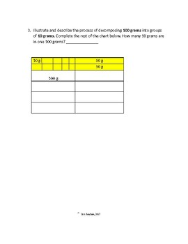 Eureka Math Module 2: Lesson 6 Problem Set  for weights and measurements Grade 3