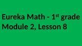 Eureka Math - Module 2 Lesson 8 (1st grade)