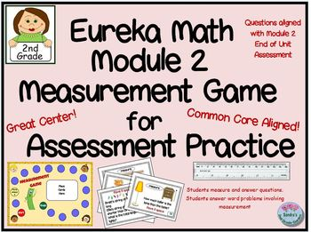 Eureka Math Module 2 Measurement Game for Assessment practice