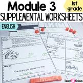 Eureka Math Module 3 Supplemental Math Worksheets | Print & Go
