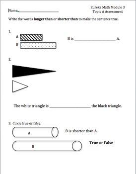 Eureka Math Module 3 Assessments Topics A-D