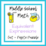Eureka Math Module 3 - Expressions + Equations Puzzle