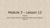 Eureka Math Module 3 Lesson 12