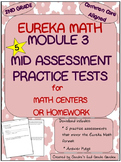 2nd Grade Eureka Math Module 3 Mid Module Assessment Practice Tests (5)