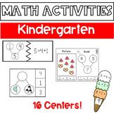 Eureka Math Module 4 Centers BUNDLE