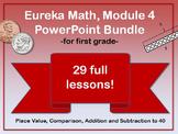First Grade Eureka Math Module 4 PowerPoint Bundle (Place