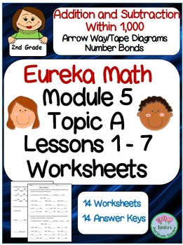Eureka Math Module 5 Topic A Lessons 1-7 Extra Practice Worksheets