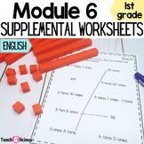 Eureka Math Module 6 Supplemental Math Worksheets | Print & Go