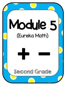 Eureka Math Second Grade Modules Binder Covers
