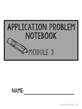 Eureka Math Modules 1 - 8  Application Problems Bundle