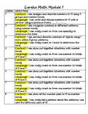 Eureka Math Objectives for First Grade