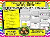 Eureka Math POSTERS Third Grade-ALL MODULES