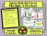 Eureka Math POSTERS Third Grade Module 2