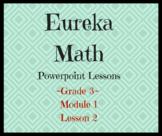 Eureka Math Powerpoint Grade 3- Mod. 1, Lesson 2