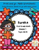 Eureka Math Print and Go Worksheets Engage First Grade