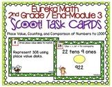 Eureka Math 2nd Grade End-Module 3 Review Task/Boom™ Cards